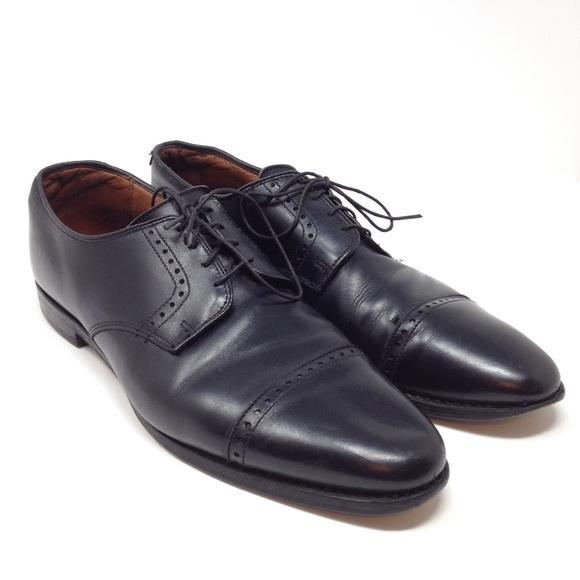 ef0666afdb92 Allen Edmonds Other - Allen Edmonds Clifton Black Cap Toe Oxfords Shoes
